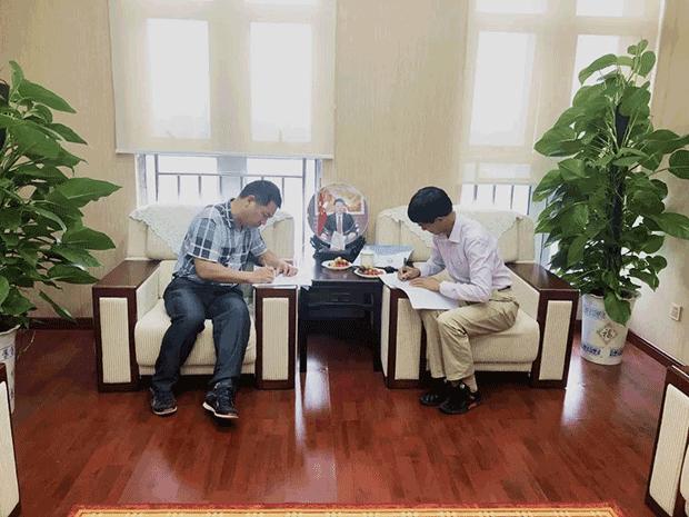 热烈祝贺湖南呈昱农业生态科技有限公司生猪规模化养殖项目顺利推进(图2)