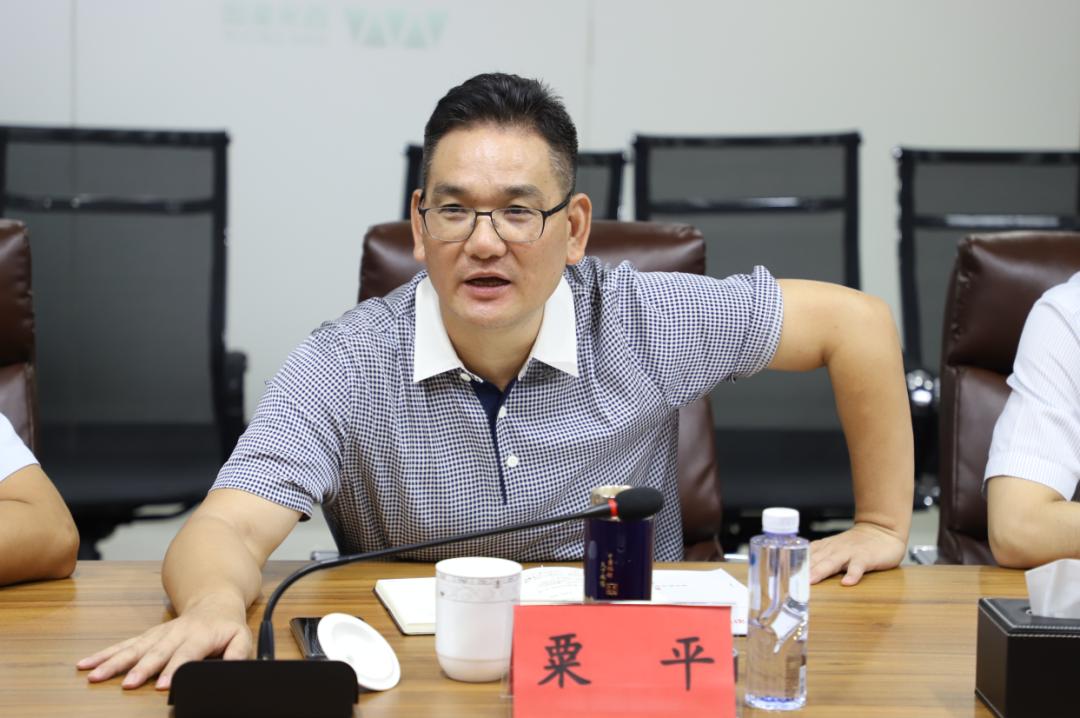 长沙市退役军人事务局荣爱华、伍玉明一行调研新征程网(图2)