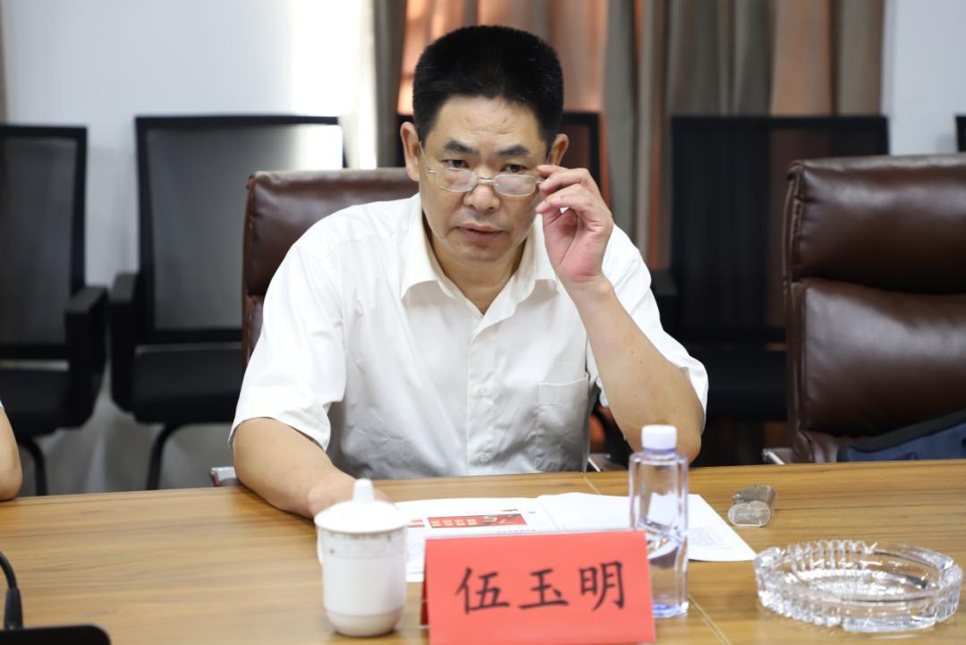 长沙市退役军人事务局荣爱华、伍玉明一行调研新征程网(图3)